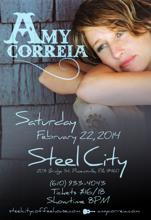 Amy Correia @ Steel City Coffeehouse 2/22/14